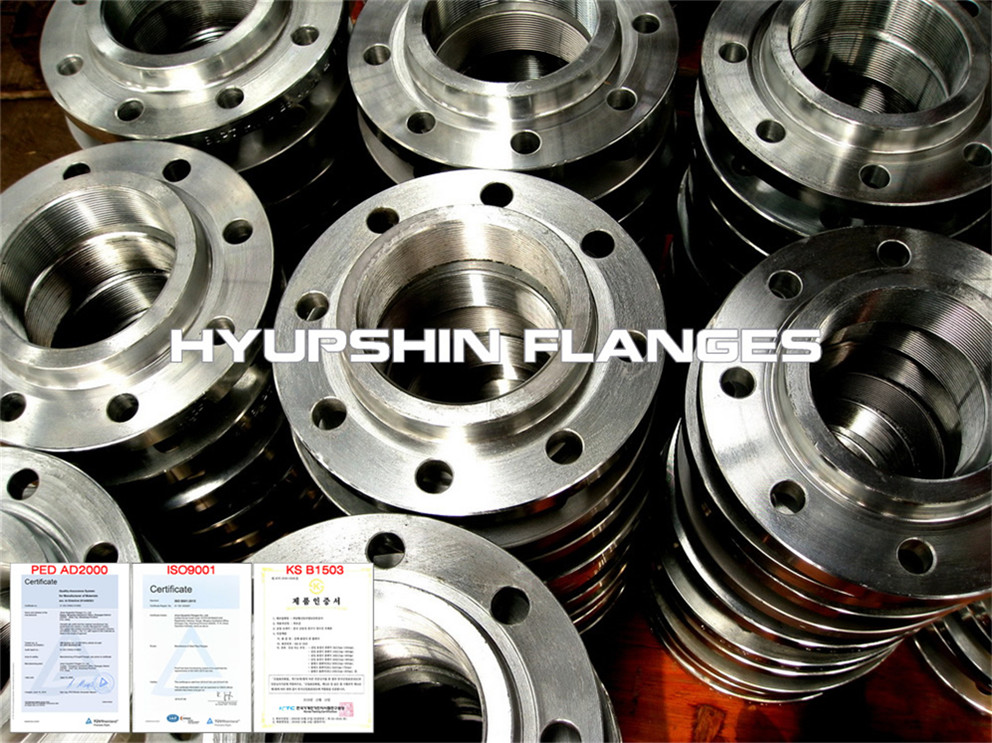 Hyupshin Flanges Type12 En1092 1 Slip On