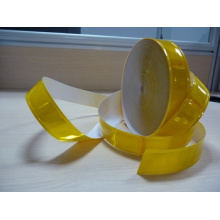 hoher Sichtbarkeit gelb reflektierende PVC Reflektorband 200cd