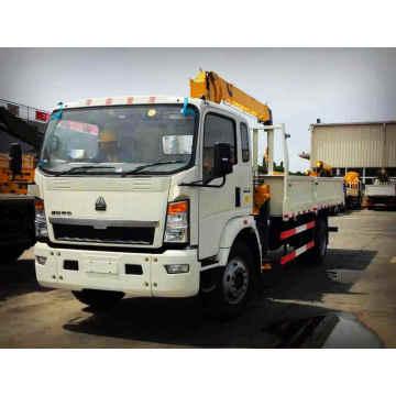 4X2 Truck Mounted Hydraulic Crane XCMG 3.2 Tons