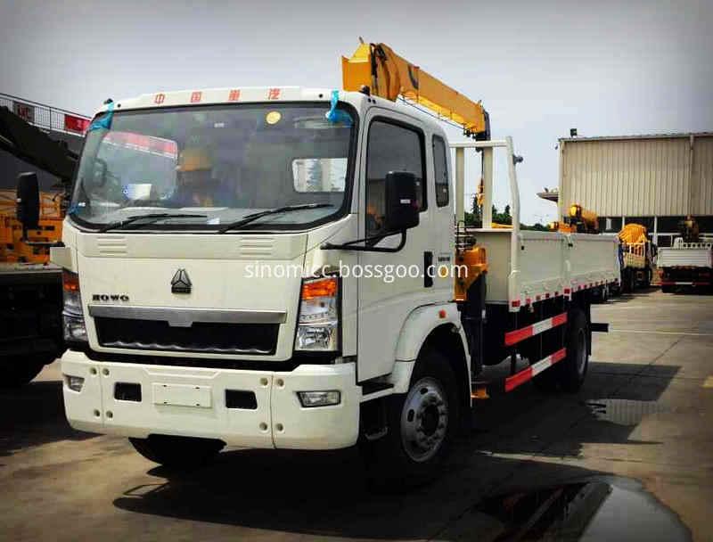 Howo Light Truck Mounted Xcmg Crane