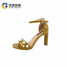 women's shoes fashion footwares heels 2017 lady open toe sandal