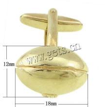 Gets.com brass cufflinks tie clip