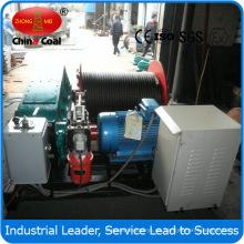 Torno eléctrico de velocidad lenta Jm10 10ton para la minería del carbón