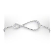 Neueste 925 Silber Schmuck Infinity Schmuck Armband