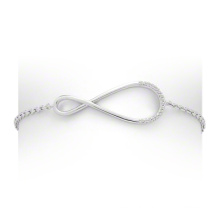 Latest 925 Silver Jewellery Infinity Jewelry Bracelet