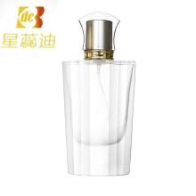 Bouteille en cristal de parfum en cristal transparent avec polissage