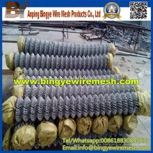 Valla de alambre galvanizado y malla de alambre