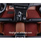 PVC coil two layers car floor mats