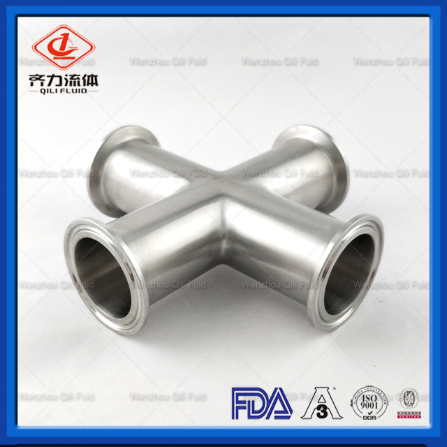 Sanitary pipe fittings Cross 24