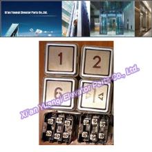 Thyssen Buttons Aufzug Lift Ersatzteile Thyssenkrupp Edelstahl Push Call Button Nagelneu