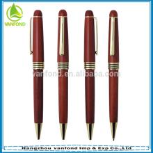 Cadeau promotionnel stylo bois personnalisé logo gravé