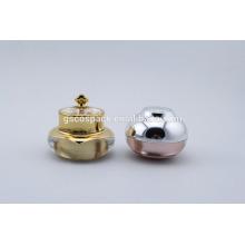 Round Cosmetic cream jar Luxury Packaging Wholesale acrylic cosmetic jar