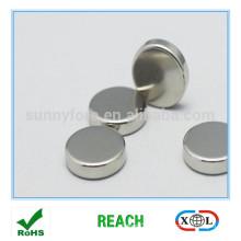 Aimants de 18 mm D nickel