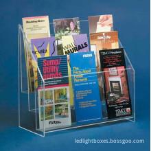 Acrylic Magazine Rack