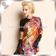 Lenço de seda de seda de Palestina do inverno da senhora elegante
