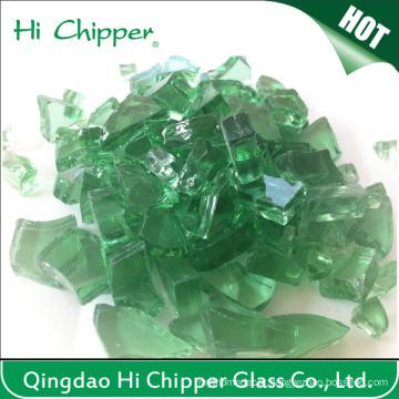 Fire Pit Glass Green
