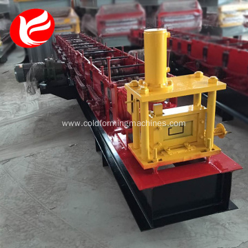 Professional China for China C Purlin Roll Forming Machine,C Purlin Roll Making Machine Supplier Roll forming machine steel c type purlin machinery export to Burkina Faso Factory