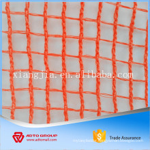 fire resistance plastic orange safety net debris netting for building construction