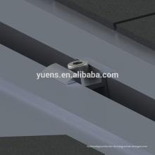 Estructura de montaje de garaje solar 200kw Sistema de panel solar