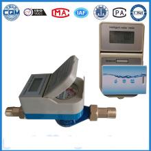 Contador digital Medidor de agua prepago Medidor de agua inteligente