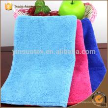 Blue Color Microfiber Towel Быстрое высыхание Путешествия Салон красоты Спортивный зал Кемпинг Спорт Footy