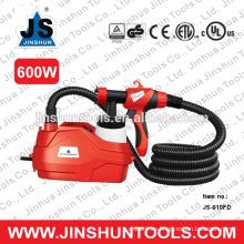 JS Electric Easy Paint Spray Gun pintor HVLP 600W a través de trabajos de pintura de la casa, JS-910FD