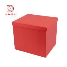 Caja de embalaje de color personalizado hermoso directo de fábrica para flores