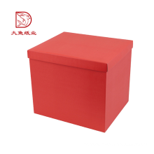 Factory direct beautiful custom color packaging box for flowers