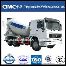 9cbm Heavy Duty caminhão de mistura de concreto com chassis HOWO