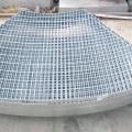 Cubierta de rejillas de drenaje de piso de acero inoxidable