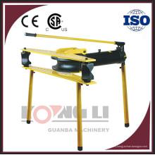 HHW-4J precio manual de la máquina de la flexión del tubo hidráulico de 4 pulgadas