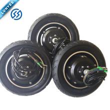 """10 """"36v 350w Hub con engranaje motor Motor de CC de par alto para silla de ruedas"""