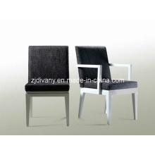 Assento de tecido sólido de madeira de estilo moderno jantando a cadeira (C0101 & C0102)