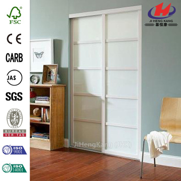 Wooden Glass Commercial Double Interior Swing Metal Doors