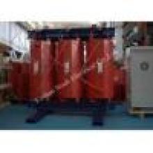 Transformador seco de la distribución de alto voltaje del transformador del tipo de 1250kVA 10kv clase