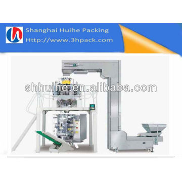 1kg Máquina de embalaje del gránulo / máquina vertical de FFS / máquina de embalaje del alimento de bebé con el pesador del Multihead