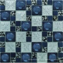 304X304mm Broken Glass Mosaic Tile in Foshan (AJR0810-S)