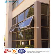 Fenêtre à auvent en aluminium de dessus de mode adaptée aux besoins du client