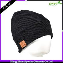 16FZBE07 côtes en tricot cachemire beanie chapeau unisexe beanie
