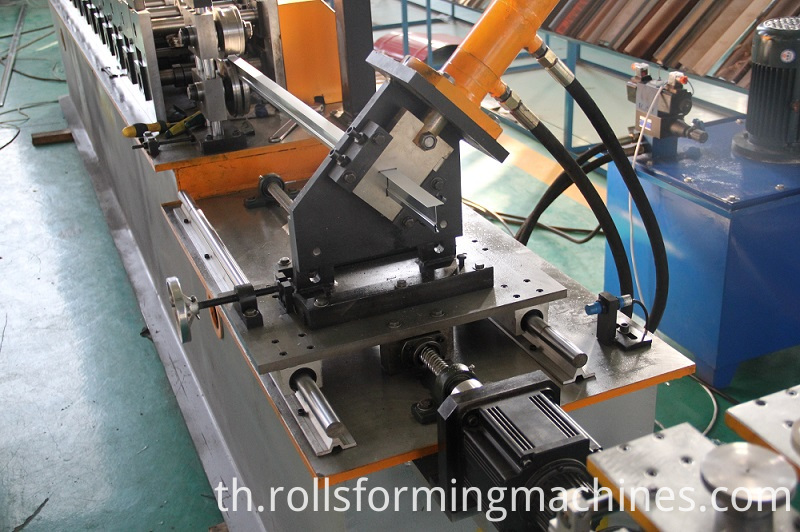 ceiling T bar machine