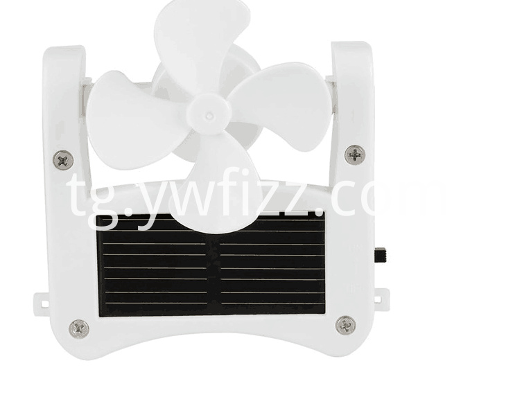 Easy To Hang Or Cap Type Fan.