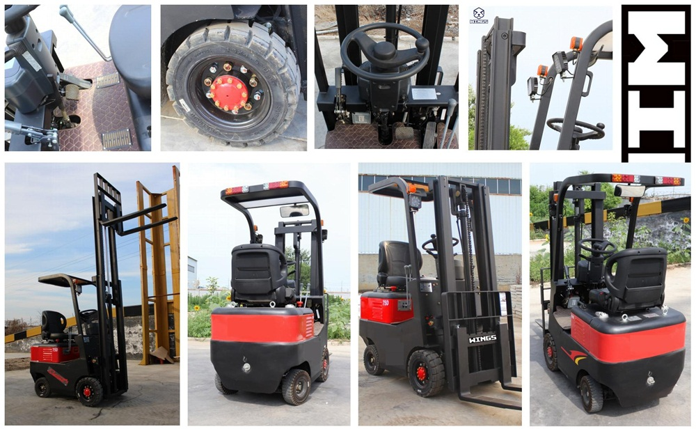 0 8ton Electric Forklift Small Forklift