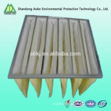 F5-F8 Medium efficiency pocket air filter cross flow filter