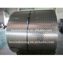 precio y calidad competitivos de la bobina de aluminio de la placa de la pisada