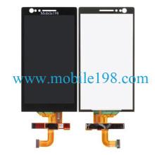 Écran d'affichage à cristaux liquides de téléphone portable et convertisseur analogique-numérique de contact pour des pièces de rechange de Sony Xperia P Lt22I