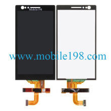 Mobile Phone LCD Screen and Touch Digitizer for Sony Xperia P Lt22I Spare Parts