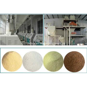 Fresadora de harina de 100-120 toneladas / 24 horas -para pastel de pan y harina de pasta