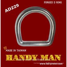 AD229 кованые алюминиевого сплава D-образное кольцо