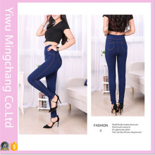 Fashion High Waist Solid Slimming Jeans Legging