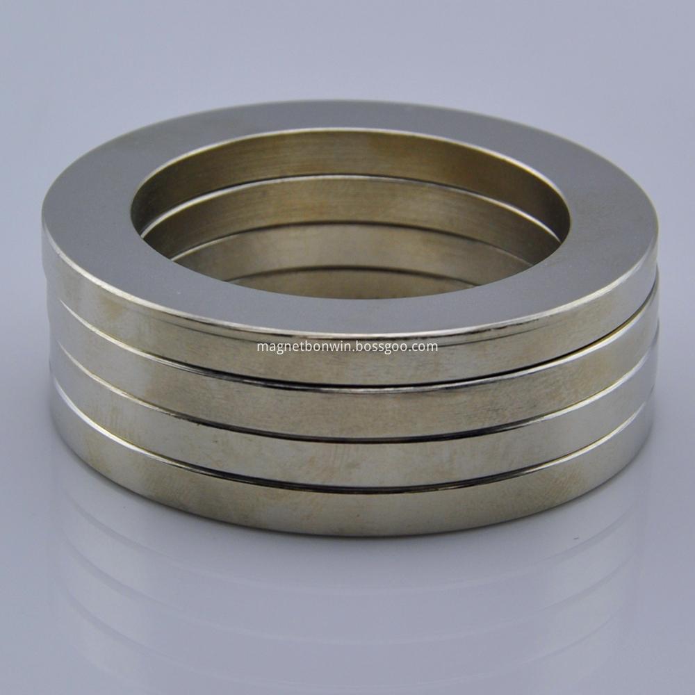 N38 neodymium large ring magnet
